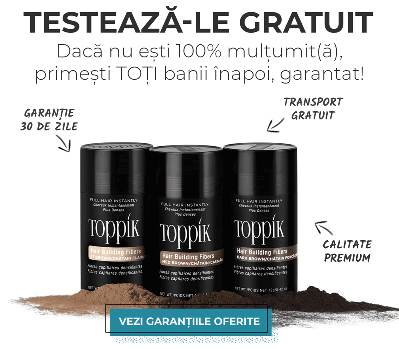 Garantiile si beneficiile oferite de Toppik Romania