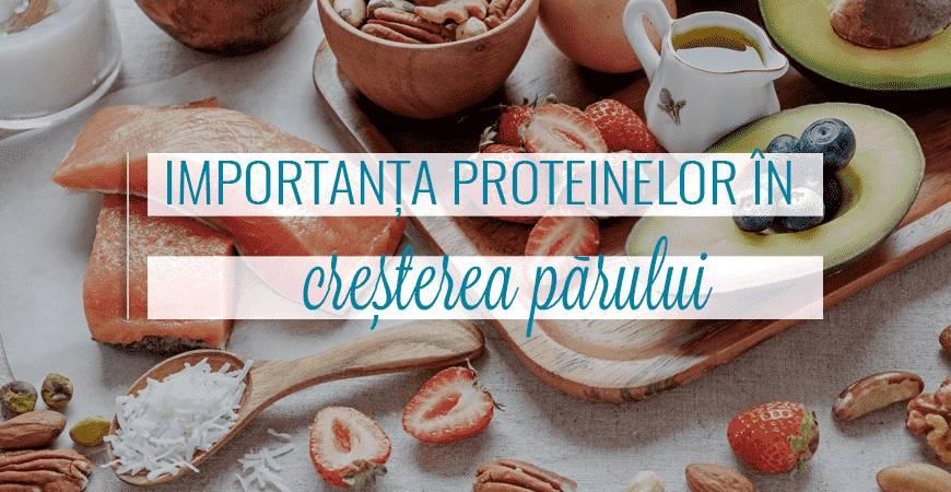 Importanța proteinelor în creșterea părului