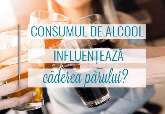 Legătura dintre consumul de alcool și căderea părului