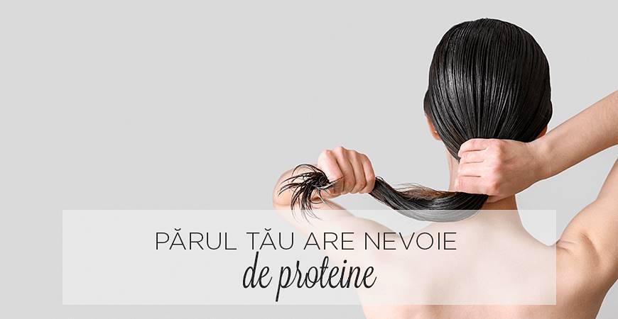Părul tău are nevoie de proteine