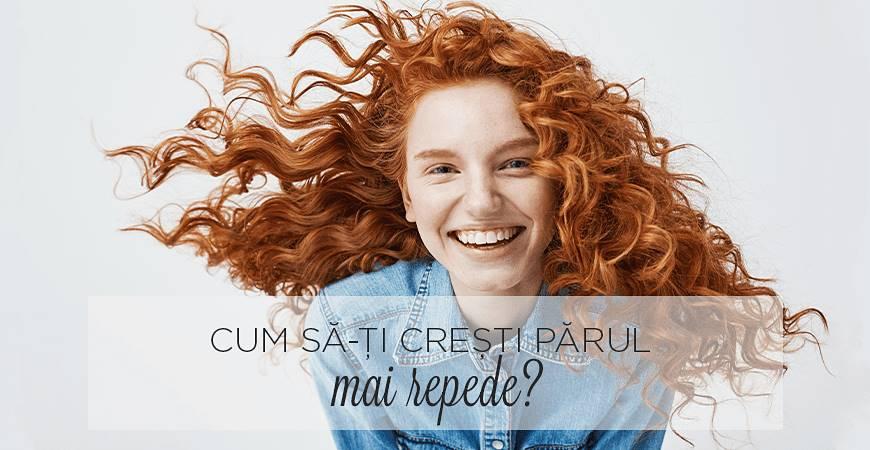 Cum să-ți crești părul mai repede?