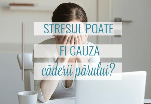 Stresul poate cauza caderea parului?